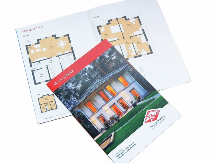 Roth-Massivhaus | Stadtvilla Lugana, Katalog 2014