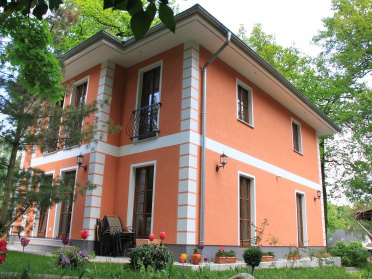 Stadtvillen | Villa Lugana, Seitenansicht