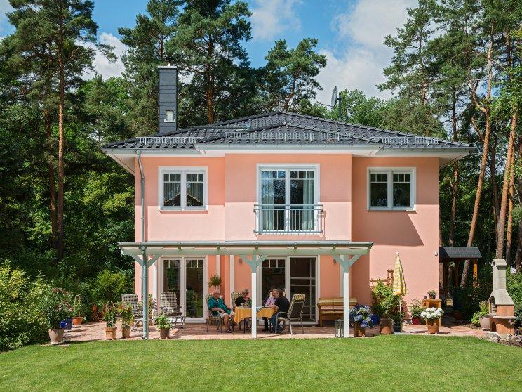 Stadtvillen | Villa Lugana, Gartenansicht
