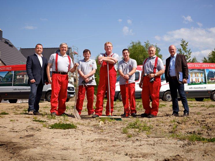 Unternehmen Roth-Massivhaus | Mitarbeiter: Baustellensicherung 2