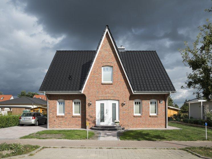 Einfamilienhäuser | Friesenhaus, Frontansicht
