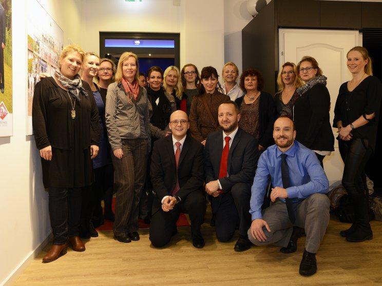 Roth-Massivhaus | Eröffnung neues Kundenzentrum Hamburg | Geschäftsführung und Team