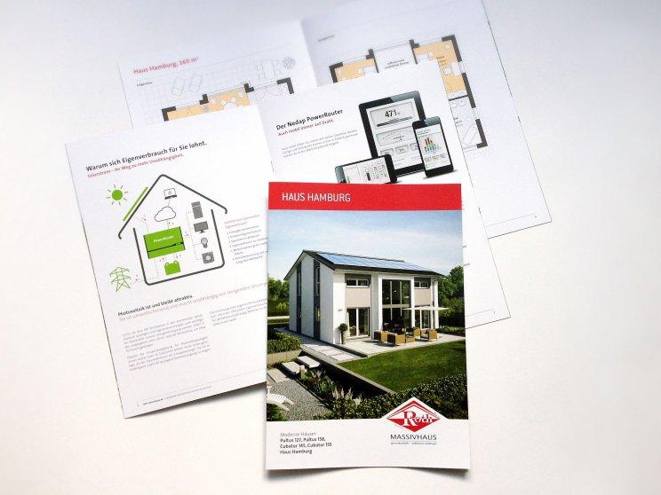 Roth-Massivhaus | Haus Hamburg, Katalog 2014