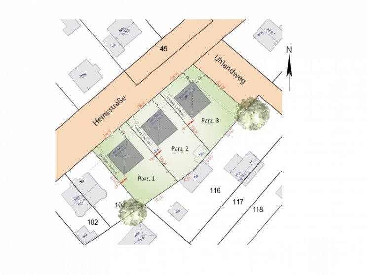 Roth Massivhaus  Grundstücke: Panketal_Teilungsentwurf_Lageplan_Heinestr.jpg