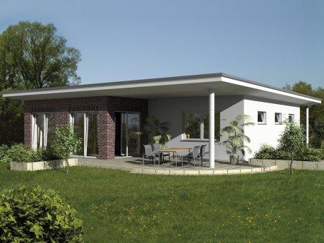 ... Bungalows | Moderne Bungalows, Flachdach (Entwurf 2) ...